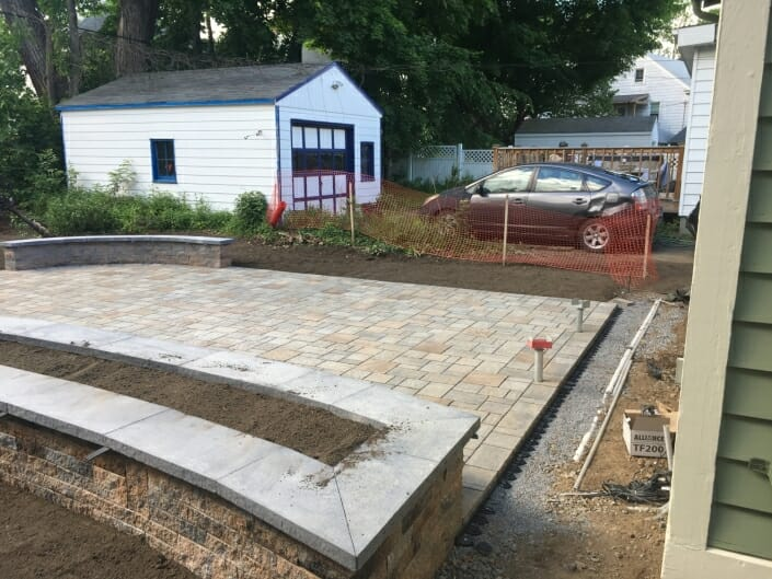 2641806C 30A5 4A49 9B7E 3DEB15D548AD 705x529 - Eco Friendly permeable patio design in the Albany NY area