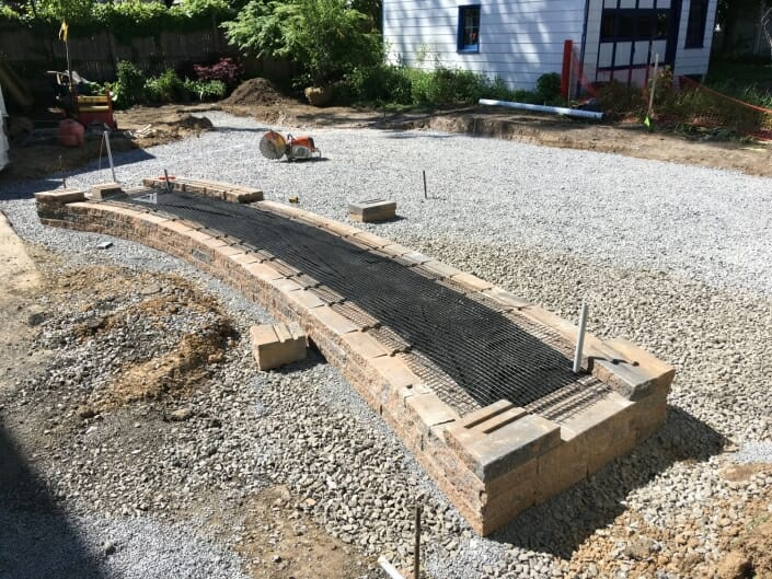 IMG 4985 705x529 - Eco Friendly permeable patio design in the Albany NY area