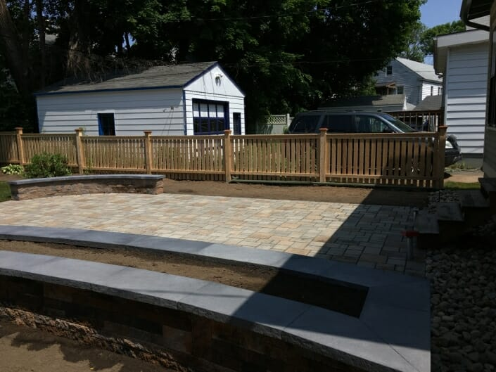IMG 5082 705x529 - Eco Friendly permeable patio design in the Albany NY area