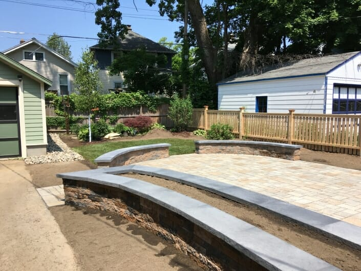 small yard design Albany