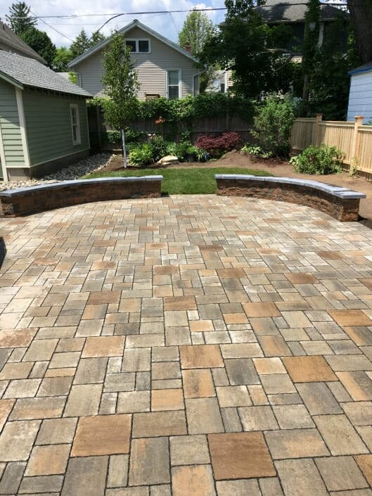 IMG 5086 529x705 - Eco Friendly permeable patio design in the Albany NY area