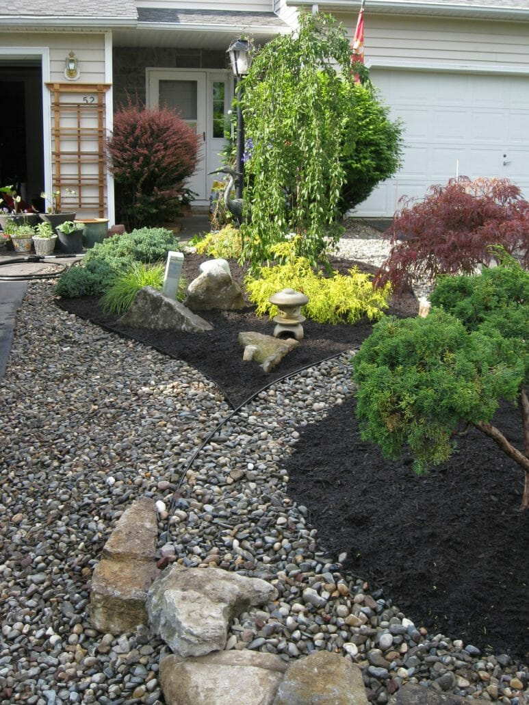 Albany Greenbush NY townhome small garden 773x1030 - Landscape Plan Installation and Project Management