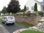 Albany NY hardscape design retaining wall 150x113 - Landscape Design Portfolio Albany's Capital District