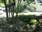 Averill Park NY bluestone sidewalk naturalistic design 150x113 - Landscape Design Portfolio Albany's Capital District