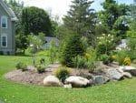 Delmar NY front yard flower garden 150x113 - Landscape Design Portfolio Albany's Capital District