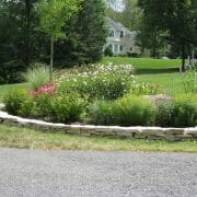 hardscape design landscape planning garden by the mailbox ideas