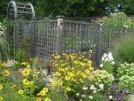 Latham NY cedar fenced garden design 150x113 - Landscape Design Portfolio Albany's Capital District