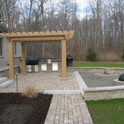 Wynantskill NY outdoor kitchen