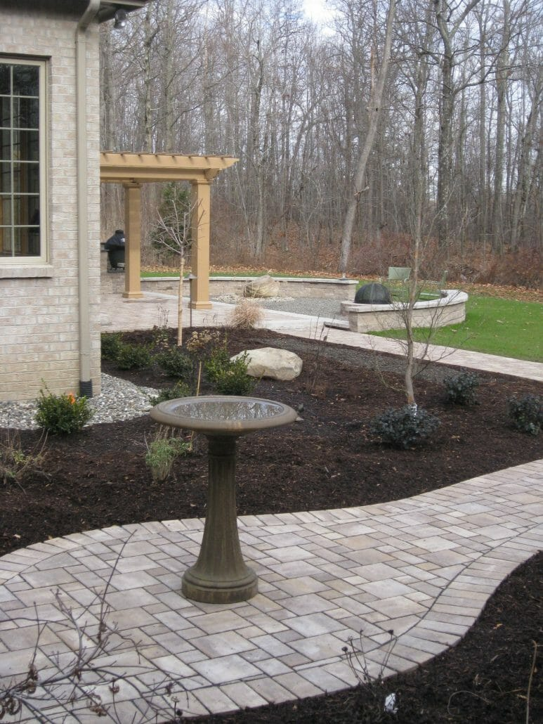 Wynantskill Albany NY backyard landscape design 773x1030 - Landscape Plan Installation and Project Management