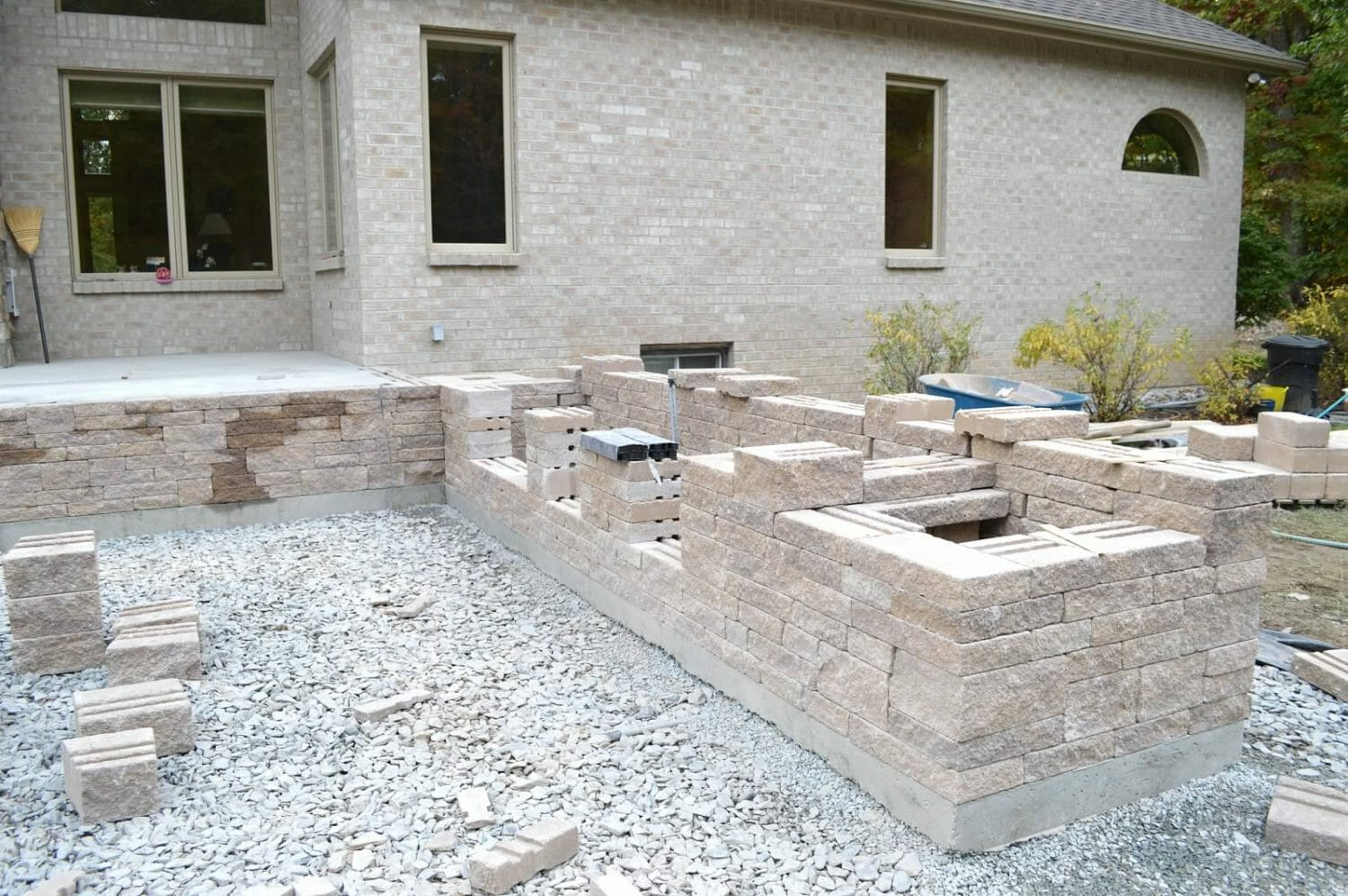 Wynantskill Albany NY patio hardscape landscape design 1500x997 - Landscape Plan Installation and Project Management