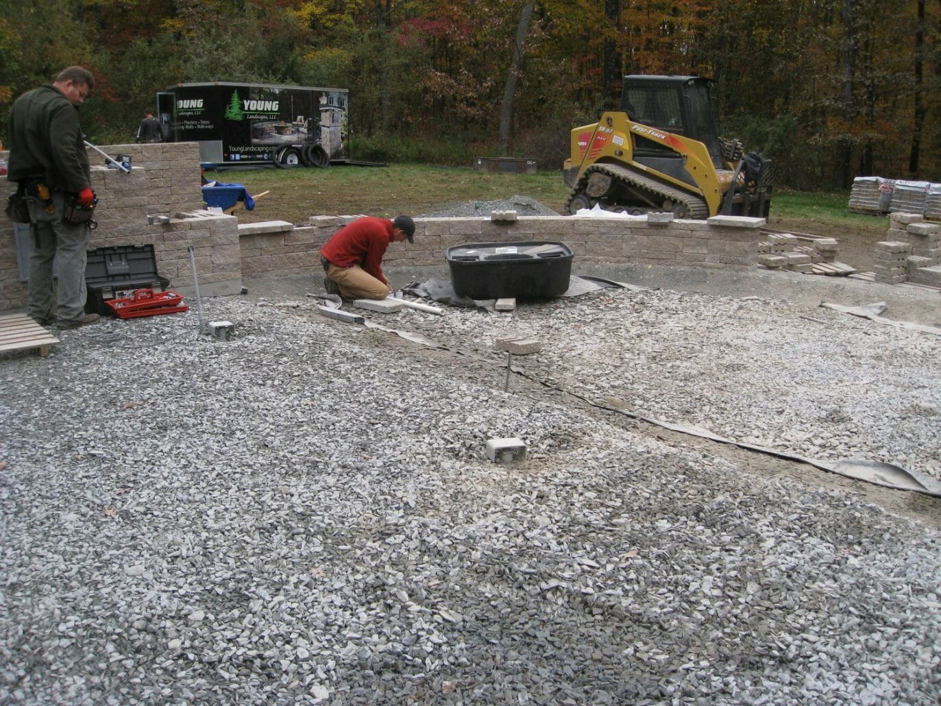 Wynantskill NY hardscape project management 1373x1030 - Landscape Plan Installation and Project Management