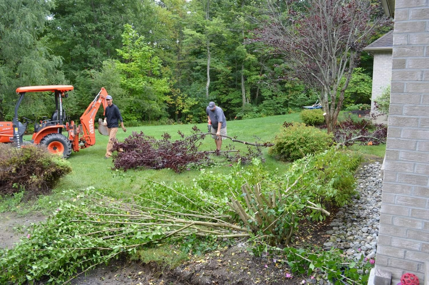 Wynantskill NY landscape backyard design before 1500x997 - Landscape Plan Installation and Project Management