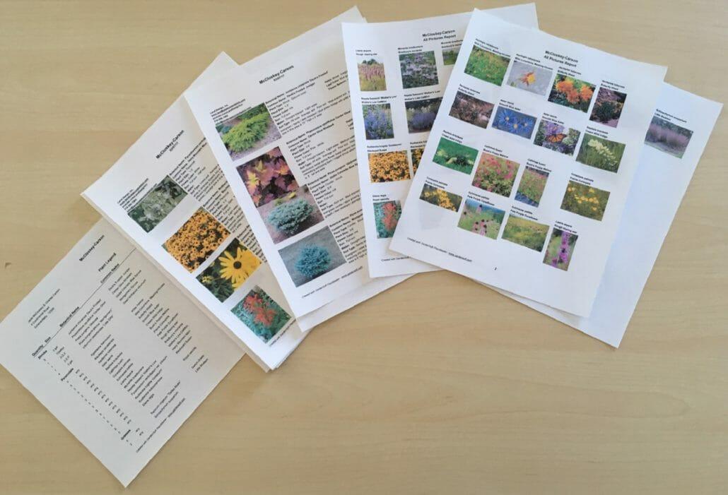 plant list3 1030x701 - Landscape Plant Flagging Consultations